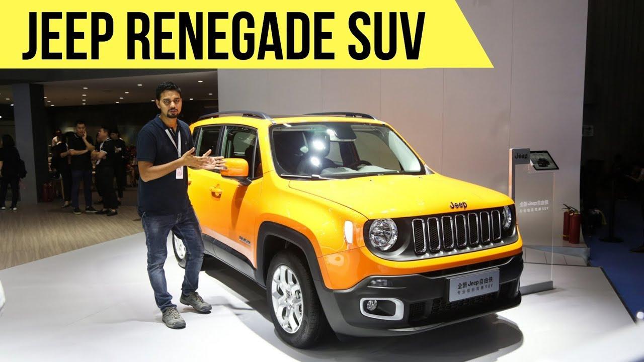 Jeep Renegade India Bound Suv Creta Rival Detailed Walkaround