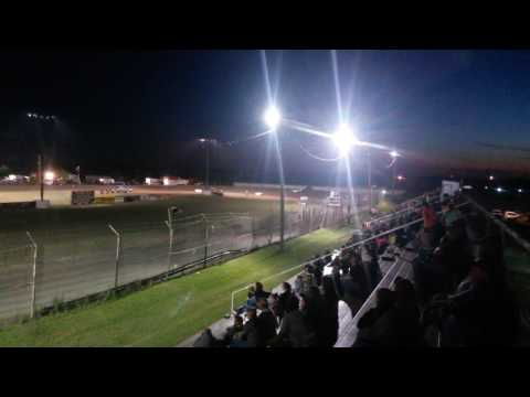 Heat race at Greenville super bowl speedway
