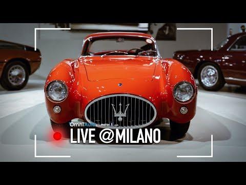 Maserati A6GCS-53, Quando L'auto Finisce E Inizia L'arte   Milano AutoClassica 2017