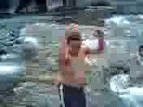 Laur swimming, videoke and Ligo sa ilog