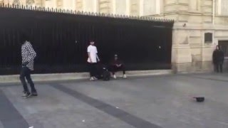 Street Dancers in Paris: Best Moonwalk Ever
