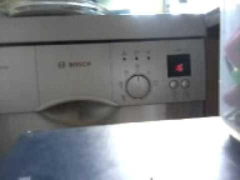 Rewelacyjny Zmywarka bosch( dishwasher ) - YouTube UP58