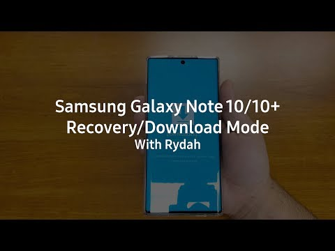 How to: Galaxy Note 10/10+ Recovery & Download Mode
