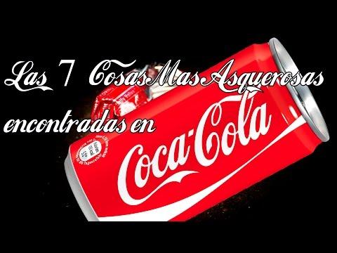 Las 7 cosas más asquerosas encontradas en bebidas de Coca Cola | DrossRotzank