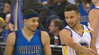 Stephen Curry vs Seth Curry! Kevin Durant Triple Double 19 Pts 11 Rebs 10 Asts Mavs vs Warriors