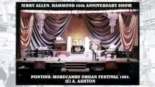 Organ Celebrities JERRY ALLEN.30B