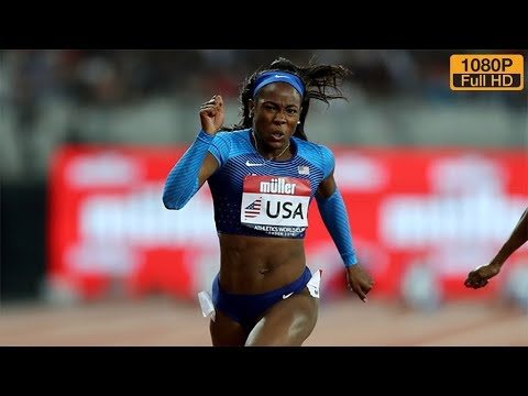 Women's 100m at Athletics World Cup 2018