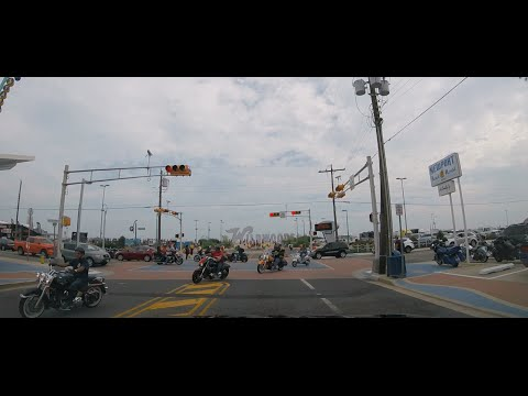 Roar to the Shore 2016 Late Afternoon Drive Wildwood nj