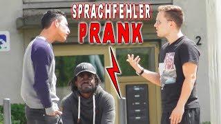 LUSTIGE SPRACHFEHLER PRANK ! | PvP
