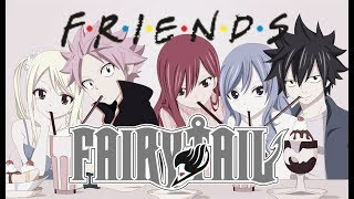 Fairy Tail Characters as Random Scenes From Friends
