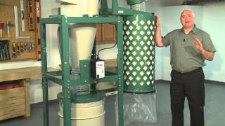 3 & 5 Hp Cyclone Dust Collector Comparison