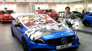 I'm Wrapping My Car CAMO!!?