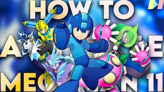 How to Animate Mega Man 11
