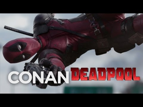 Deadpool Red Band Trailer: World Broadcast Debut  - CONAN on TBS