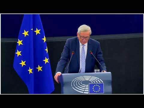 Jean Claude Juncker: Discours de l'état de l'Union 2017