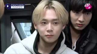 PENTAGON Funny Clip #1- Hongseok sexy acapella voice