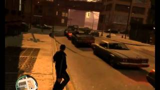 Grand Theft Auto IV Drunken Gameplay on HD 4850