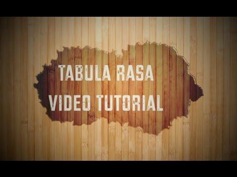 """How to play """"Tabula Rasa"""" with Calum Graham"""