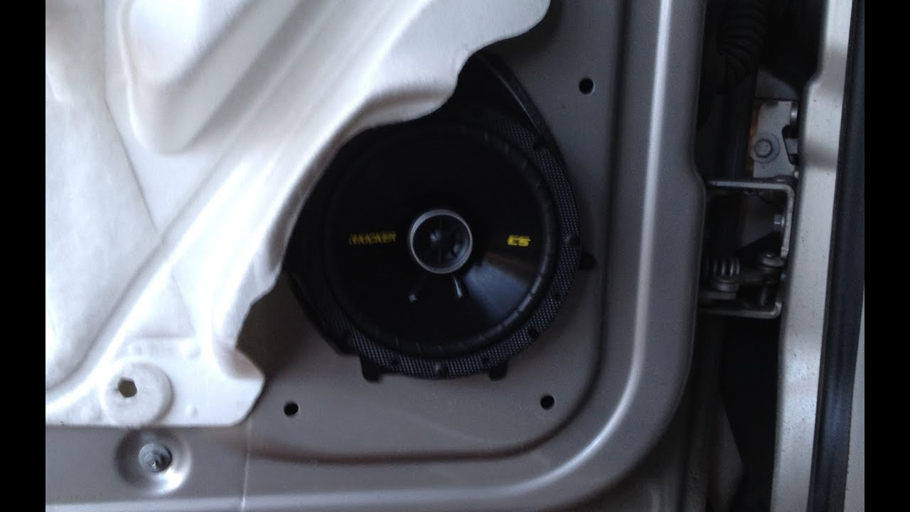 Part 3 2007 13 gm truck front speaker install silverado for 04 chevy silverado door speakers