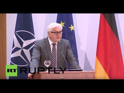LIVE: Steinmeier and Saudi FM Adel Jubair hold joint press conference