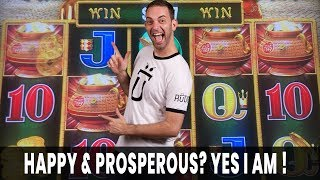 😊 💵 Happy & Prosperous? Why Yes! ✅ And Who's that Handsome Devil in the Intro?
