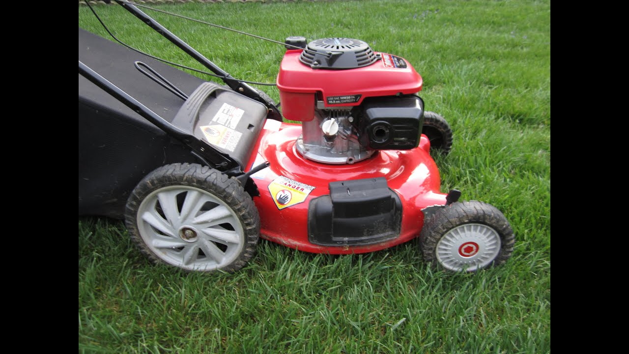 Troy Bilt Lawn Mower Honda GCV160 160CC OHC Engine - Craigslist Find - Part I - April 2, 2014 ...