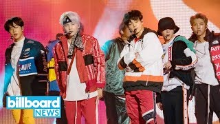 BTS Performs, Pulls Prank on 'Jimmy Kimmel Live!' | Billboard News MP3