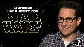 JJ Abrams Already Has a Script for the Next Star Wars