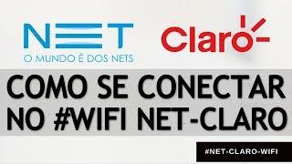 NET CLARO WIFI Como se conectar