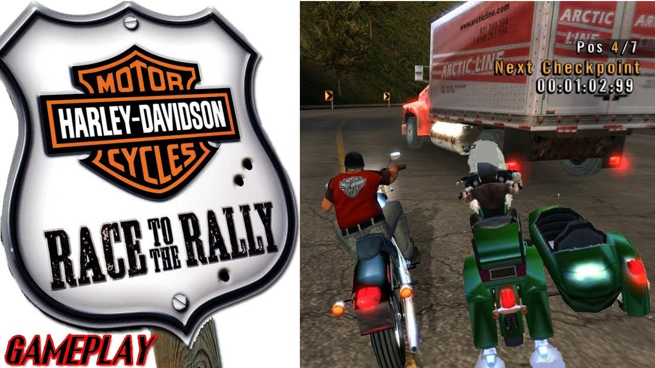 Harley davidson motorcycles race to the rally pc download