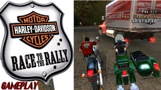 Harley Davidson Race to the Rally Gameplay & Intro PC HD