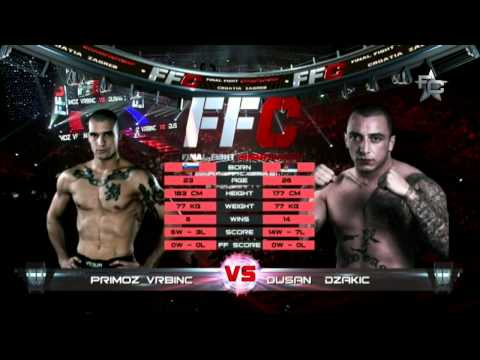 Final Fight Championship 8: Primož Vrbinc vs. Dušan Džakić