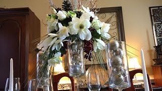 DIY Dollar Tree Holiday Centerpiece