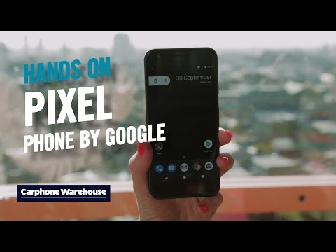 Google Pixel and Pixel XL hands on