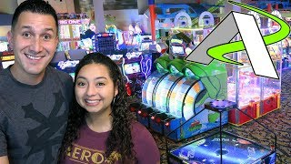 Exploring the NEW Andretti arcade!