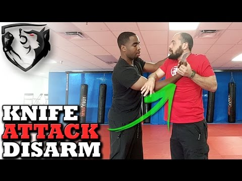 Knife to the Throat Disarm Technique