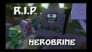 Monster School  R.i.p Teacher Herobrine Is Dead