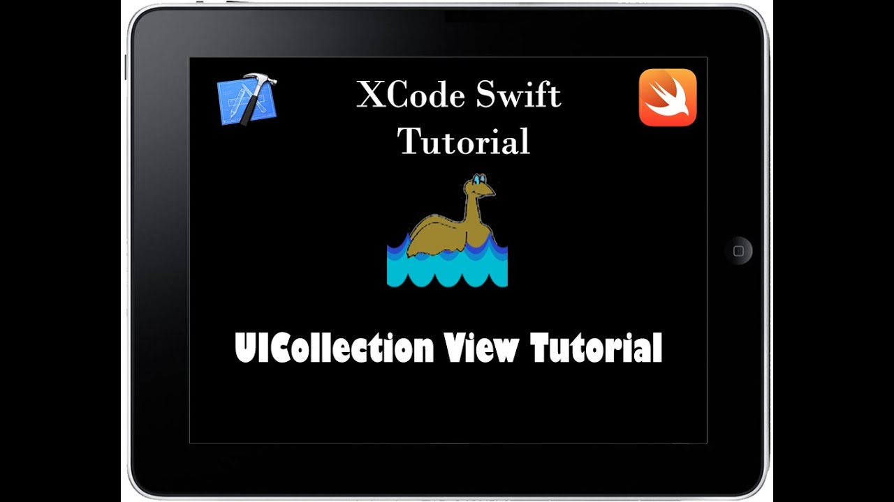 Swift - UICollectionView with custom cell Tutorial