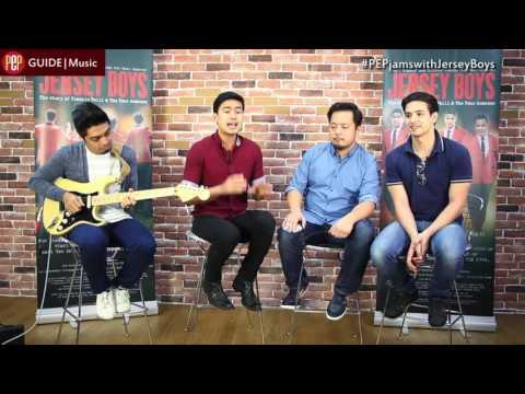 Christian Bautista sings