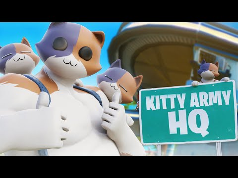 Fortnite Added THE KITTY ARMY In SEASON 3!