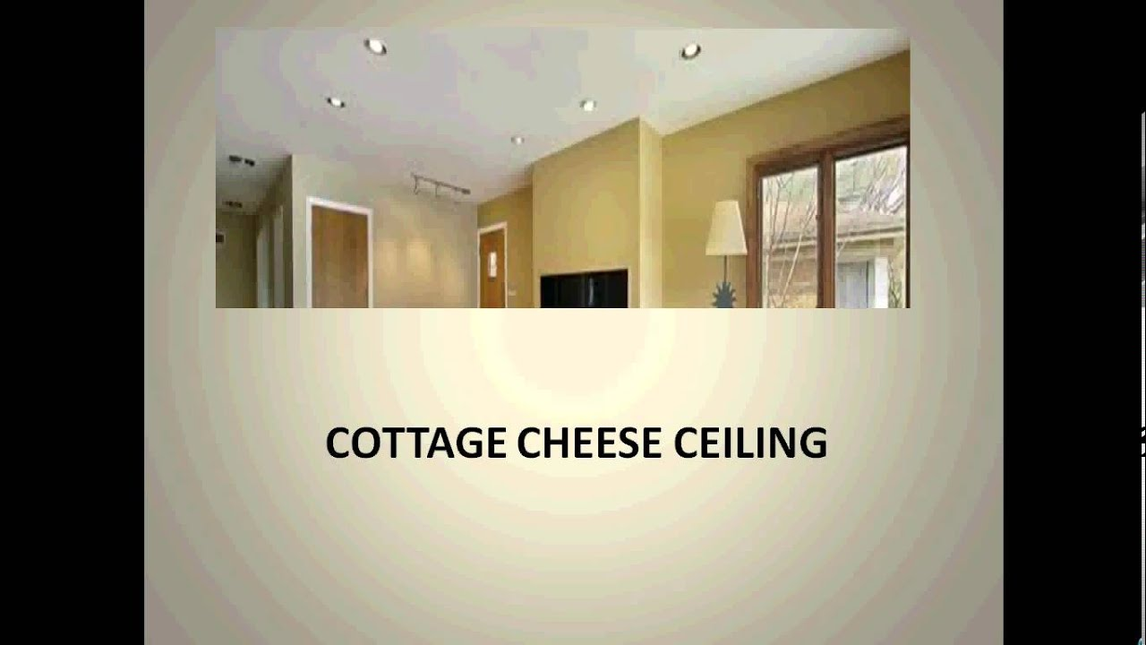 How to remove a popcorn ceiling that contains asbestos