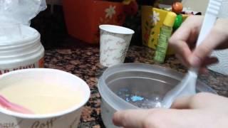 Slime yapımı zıp zıp hamur tutkalı olmadan