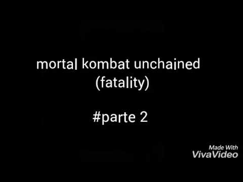 Fatality do mortal kombat unchained[ppsspp]  #parte2