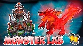 Monster Legends - Probando Monster Lab - MEGA LORDFIRESAUR