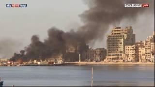 صور حصرية للمعارك ضد داعش غربي بنغازي