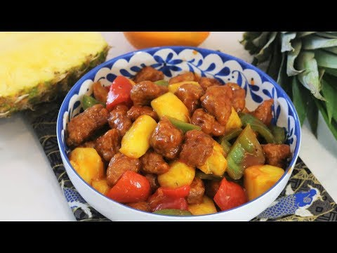 SUGAR FREE Sweet and Sour Pork