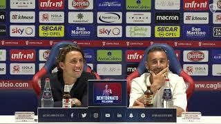 La conferenza stampa di presentazione di Luca Pellegrini