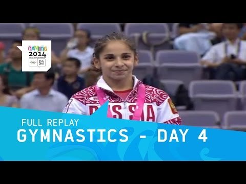 Artistic Gymnastics - Day 4 Women\'s All Around | Full Replay| Nanjing 2014 Youth Olympic Games