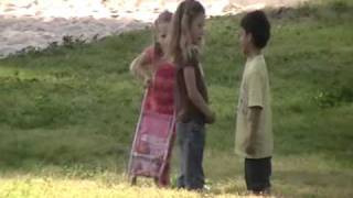 Mean girls (Two little girls fight for boy)