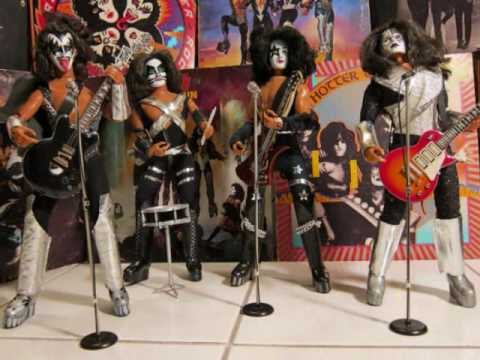 KISS 1978  MEGO Action Figures Dolls  Flaming Youth